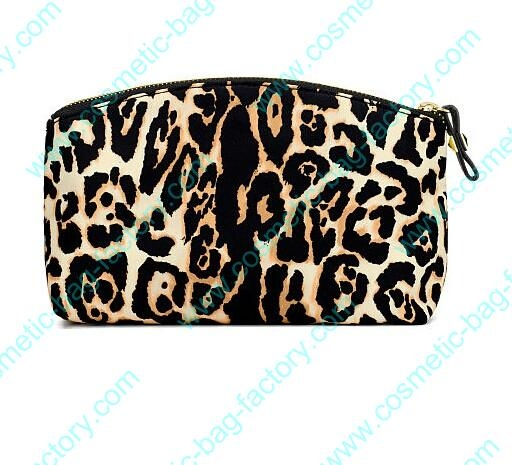 2016 Fashion Leopard custom makeup bags for women