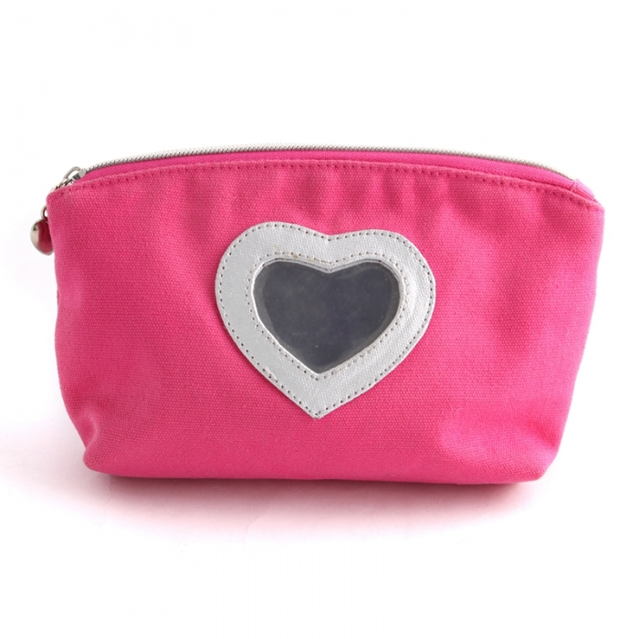 cheap price  cosmetic bag with mirror in bulk wholesale